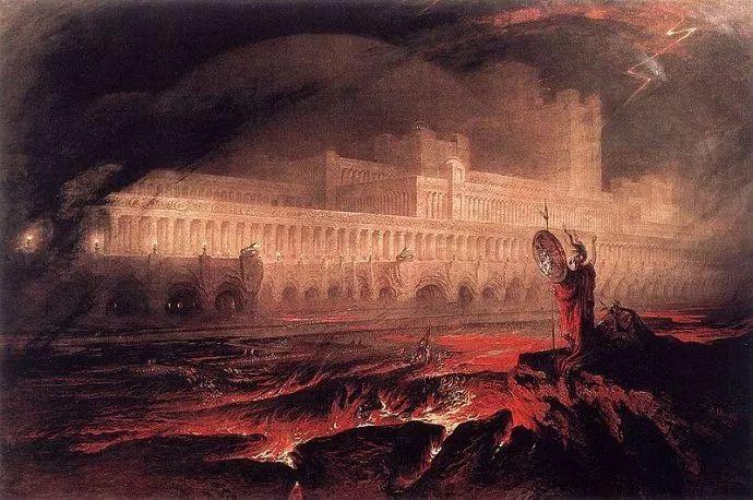 浪漫主义 英国画家约翰·马丁(1789-1854)插图21