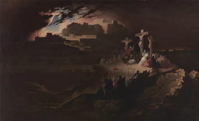 浪漫主义 英国画家约翰·马丁(1789-1854)插图25