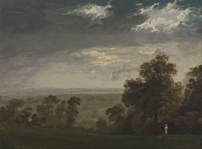 浪漫主义 英国画家约翰·马丁(1789-1854)插图27