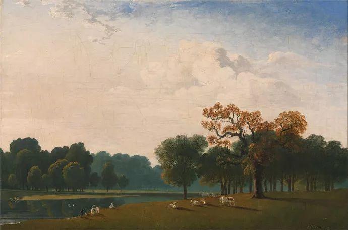 浪漫主义 英国画家约翰·马丁(1789-1854)插图31
