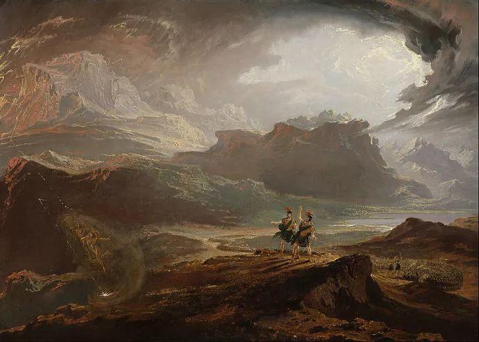 浪漫主义 英国画家约翰·马丁(1789-1854)插图33