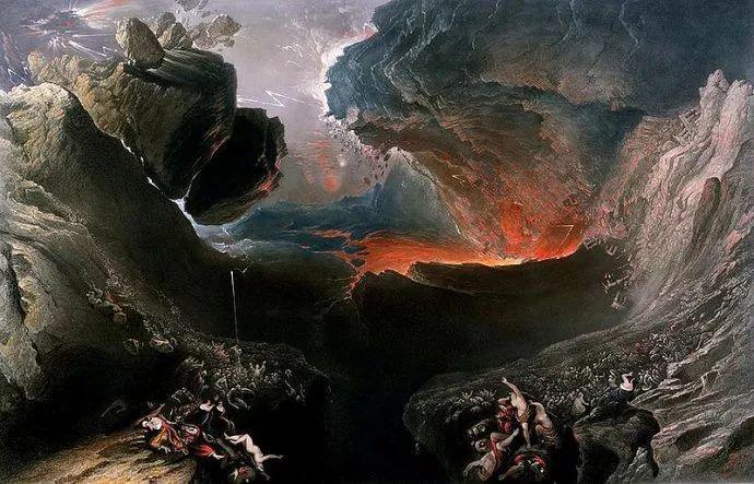 浪漫主义 英国画家约翰·马丁(1789-1854)插图37