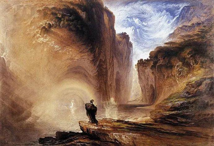 浪漫主义 英国画家约翰·马丁(1789-1854)插图39