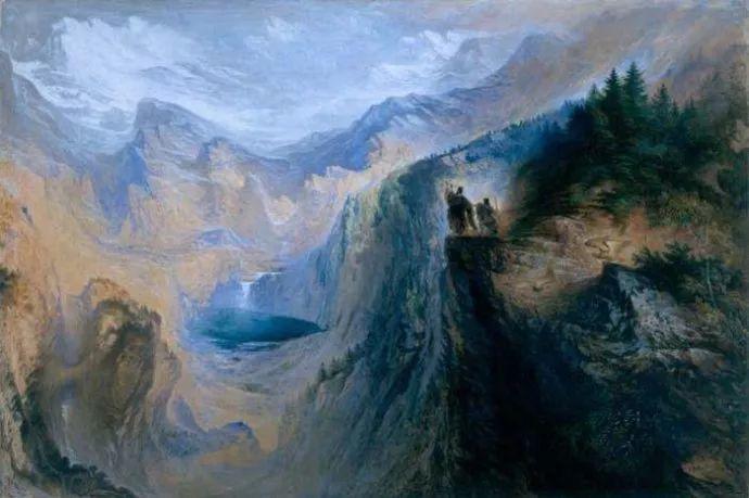 浪漫主义 英国画家约翰·马丁(1789-1854)插图41