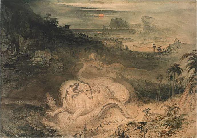 浪漫主义 英国画家约翰·马丁(1789-1854)插图43