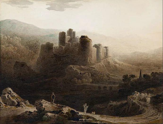 浪漫主义 英国画家约翰·马丁(1789-1854)插图45