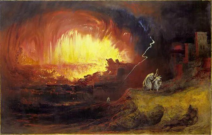 浪漫主义 英国画家约翰·马丁(1789-1854)插图47
