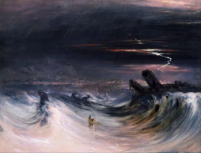浪漫主义 英国画家约翰·马丁(1789-1854)插图49