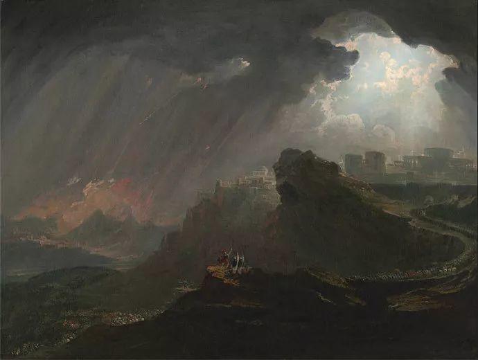 浪漫主义 英国画家约翰·马丁(1789-1854)插图59