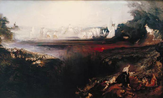 浪漫主义 英国画家约翰·马丁(1789-1854)插图61