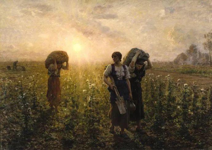 梵高走了85英里专门去拜访他 法国布雷顿(1827-1906)插图17