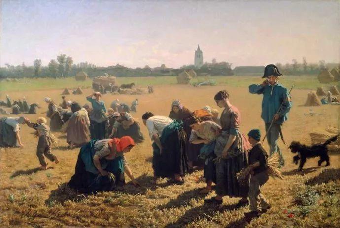 梵高走了85英里专门去拜访他 法国布雷顿(1827-1906)插图37