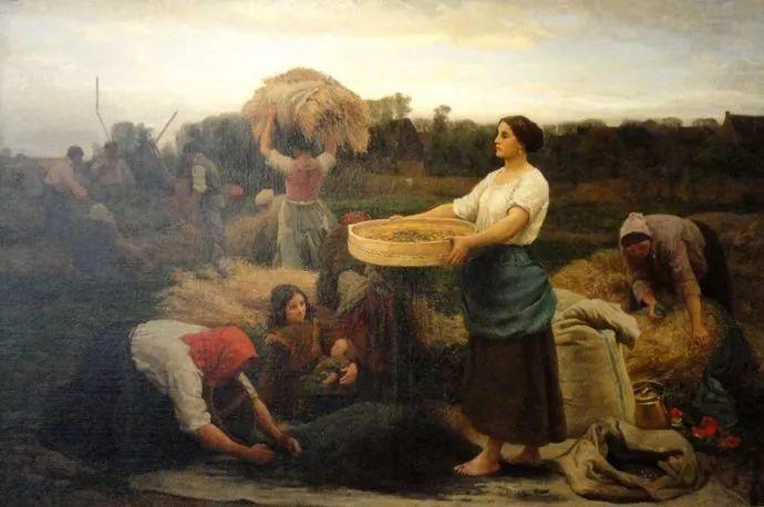 梵高走了85英里专门去拜访他 法国布雷顿(1827-1906)插图41