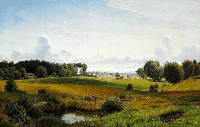 丹麦画家Vilhelm Peter Karl Kyhn(1819-1903)插图5