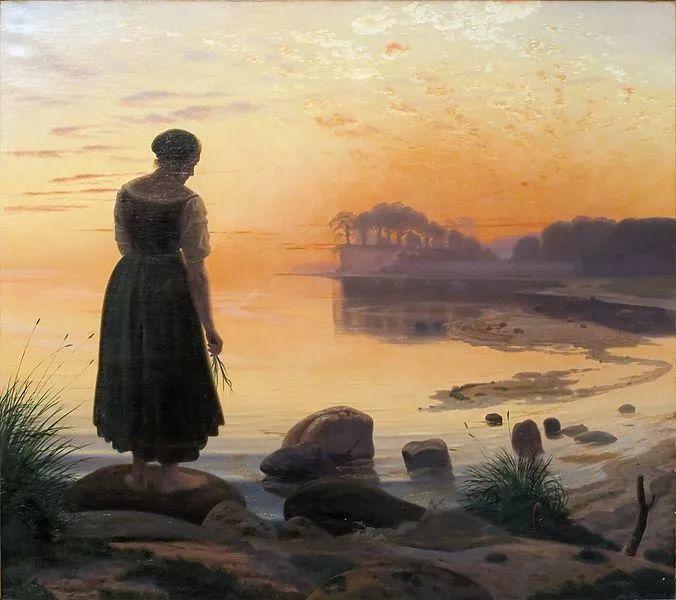 丹麦画家Vilhelm Peter Karl Kyhn(1819-1903)插图7