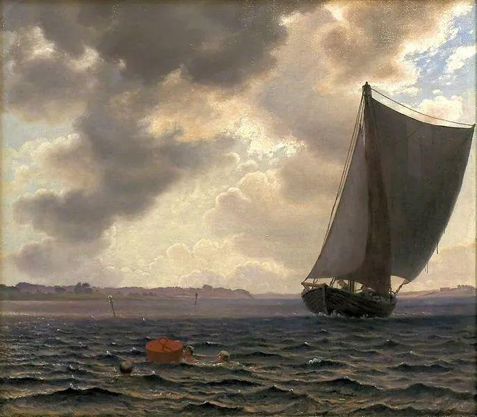 丹麦画家Vilhelm Peter Karl Kyhn(1819-1903)插图9