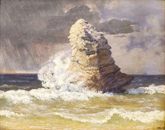 丹麦画家Vilhelm Peter Karl Kyhn(1819-1903)插图11