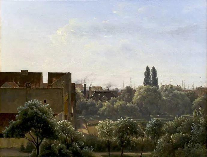 丹麦画家Vilhelm Peter Karl Kyhn(1819-1903)插图13