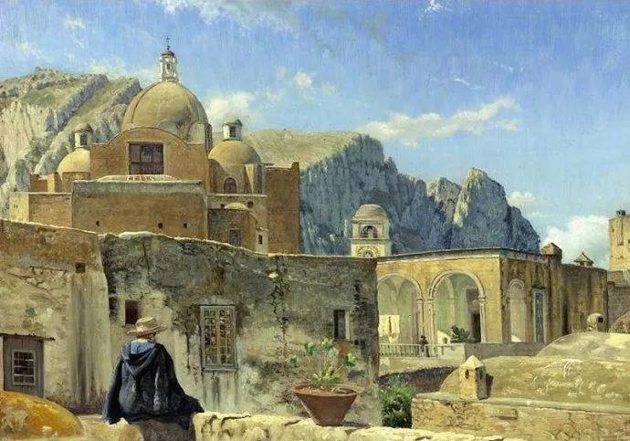 丹麦画家Vilhelm Peter Karl Kyhn(1819-1903)插图15