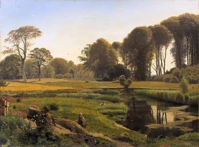 丹麦画家Vilhelm Peter Karl Kyhn(1819-1903)插图17