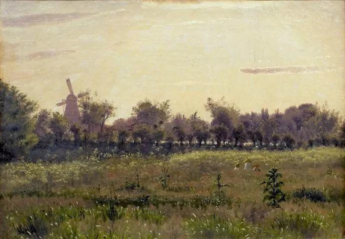丹麦画家Vilhelm Peter Karl Kyhn(1819-1903)插图19