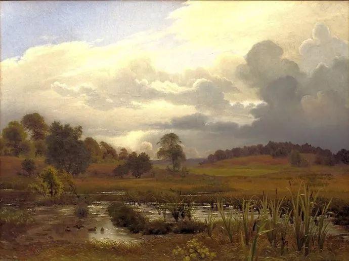 丹麦画家Vilhelm Peter Karl Kyhn(1819-1903)插图21