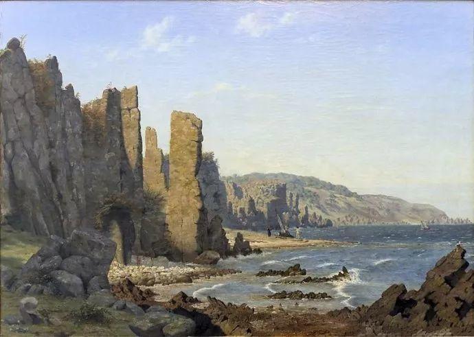 丹麦画家Vilhelm Peter Karl Kyhn(1819-1903)插图23
