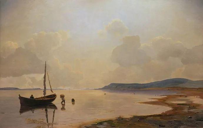 丹麦画家Vilhelm Peter Karl Kyhn(1819-1903)插图25