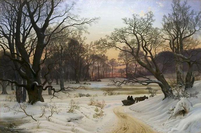 丹麦画家Vilhelm Peter Karl Kyhn(1819-1903)插图29