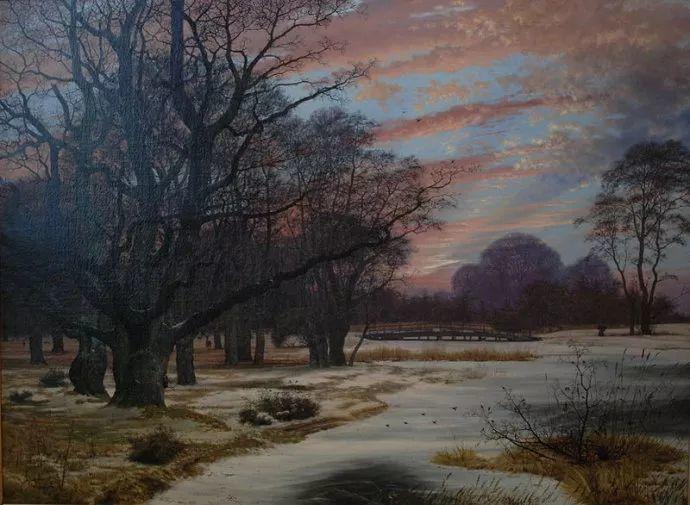 丹麦画家Vilhelm Peter Karl Kyhn(1819-1903)插图31