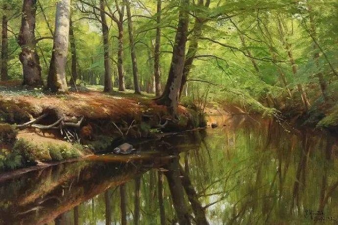 丹麦画家Vilhelm Peter Karl Kyhn(1819-1903)插图35