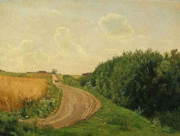 丹麦画家Vilhelm Peter Karl Kyhn(1819-1903)插图37