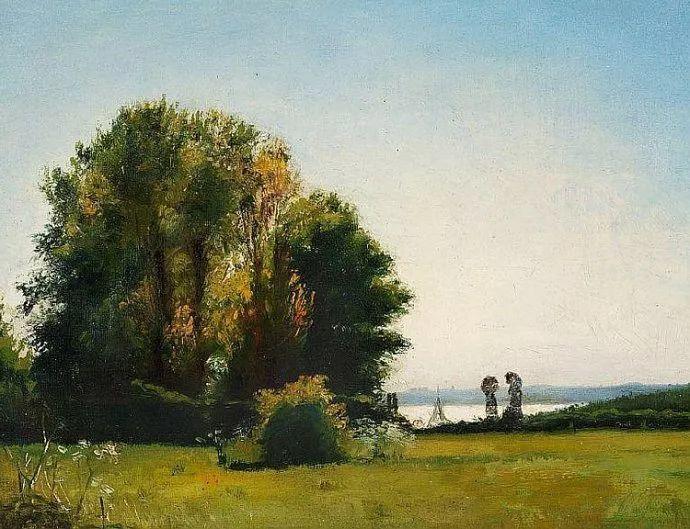 丹麦画家Vilhelm Peter Karl Kyhn(1819-1903)插图39