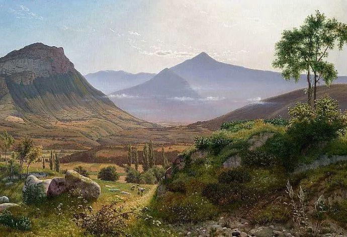 丹麦画家Vilhelm Peter Karl Kyhn(1819-1903)插图41