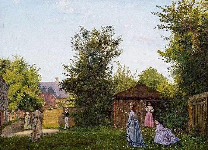 丹麦画家Vilhelm Peter Karl Kyhn(1819-1903)插图43