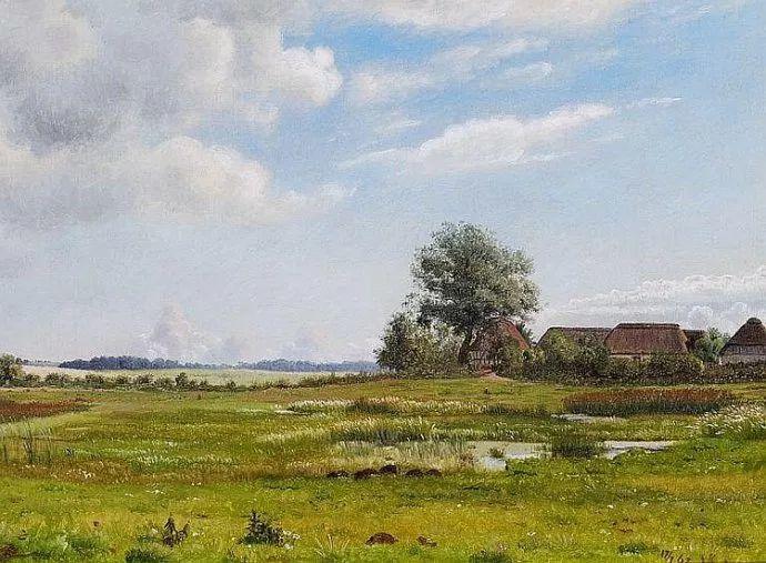 丹麦画家Vilhelm Peter Karl Kyhn(1819-1903)插图45