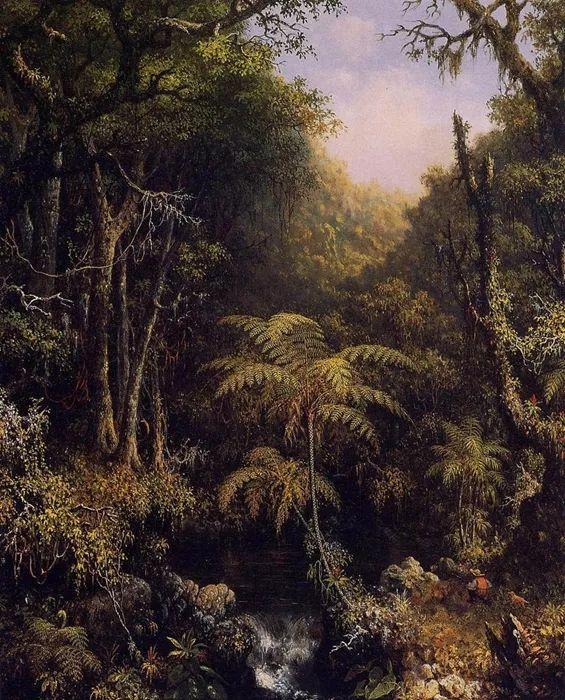 风景画 美国画家赫德(1819-1904)插图3