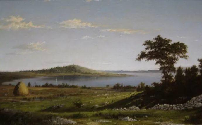 风景画 美国画家赫德(1819-1904)插图13