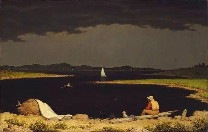 风景画 美国画家赫德(1819-1904)插图15