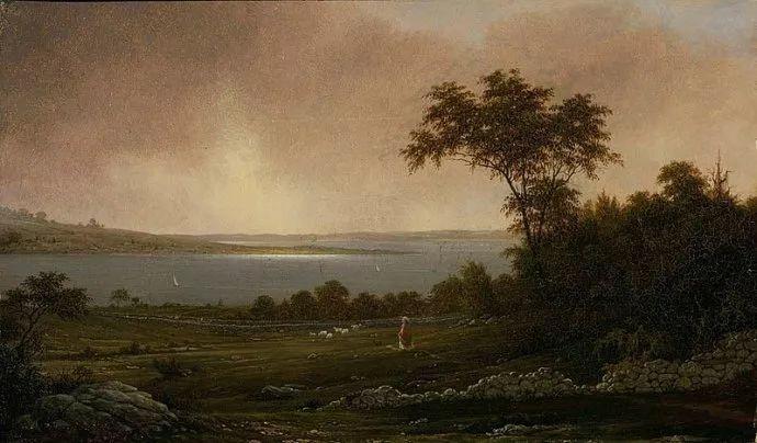 风景画 美国画家赫德(1819-1904)插图19