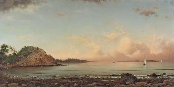 风景画 美国画家赫德(1819-1904)插图21