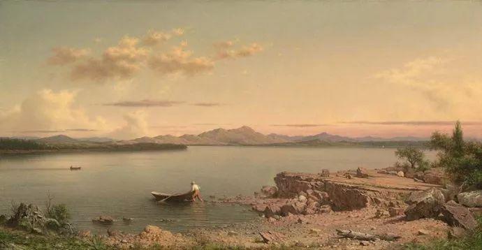 风景画 美国画家赫德(1819-1904)插图23
