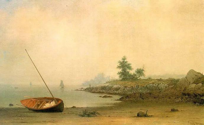 风景画 美国画家赫德(1819-1904)插图25
