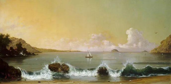 风景画 美国画家赫德(1819-1904)插图27