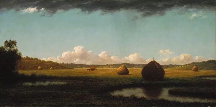 风景画 美国画家赫德(1819-1904)插图29