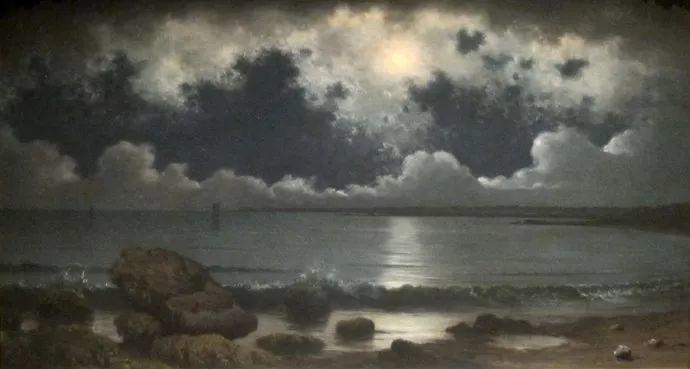 风景画 美国画家赫德(1819-1904)插图31