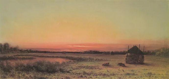 风景画 美国画家赫德(1819-1904)插图35