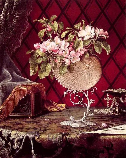 风景画 美国画家赫德(1819-1904)插图39