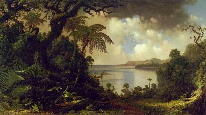 风景画 美国画家赫德(1819-1904)插图41