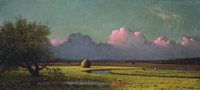风景画 美国画家赫德(1819-1904)插图43